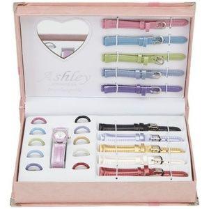 Ashley Princess Interchangeable Watch Set